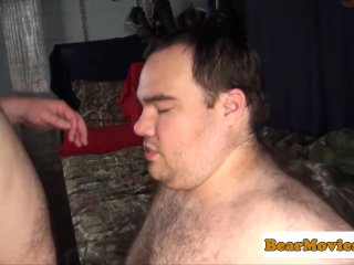 Obese bear cocksucking chubby dick