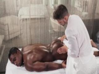 Sexy Fucking Massage 4 Hunk Black Daddy