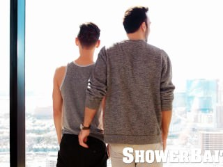 ShowerBait - Horny Boyfriends Fuck & cum Part 1