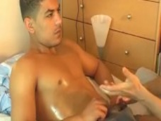 Nadim's huge cock massage ! (straight guy for a gay guy)
