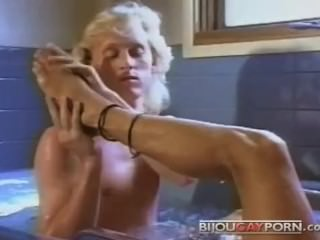 Cute Blonde Guys in a Tub - PUPPY TALES, 1989