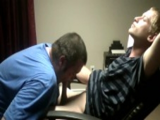 Hot straight guy sucked off by gay