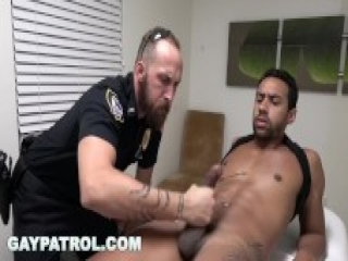 GAY PATROL - Happy Ending Massage Busted By Aggressive Cops
