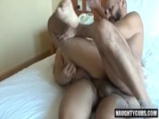 Latin gay oral sex and creampie