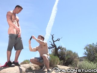 FalconStudios Outdoor Shower and Fucking